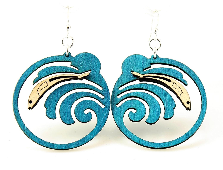 Grunion Wave Earrings