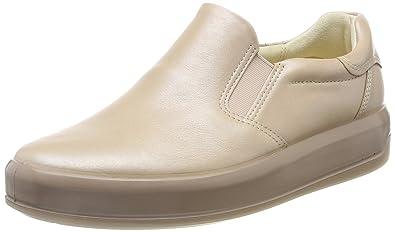 Ecco Damen Soft 7 Ladies Slip on Sneaker, Beige (Powder), 40 EU