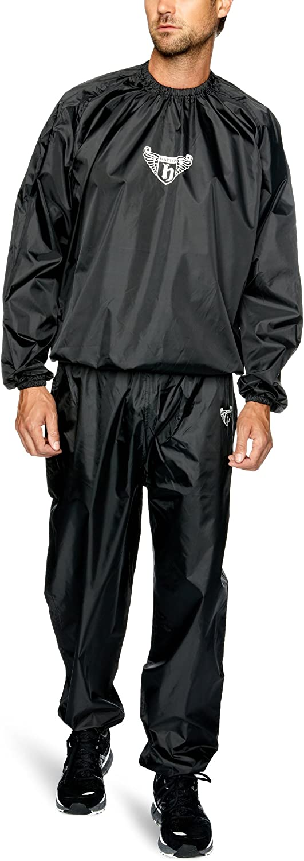 HATTON - Chándal Efecto Sauna para práctica de Boxeo Negro Negro ...