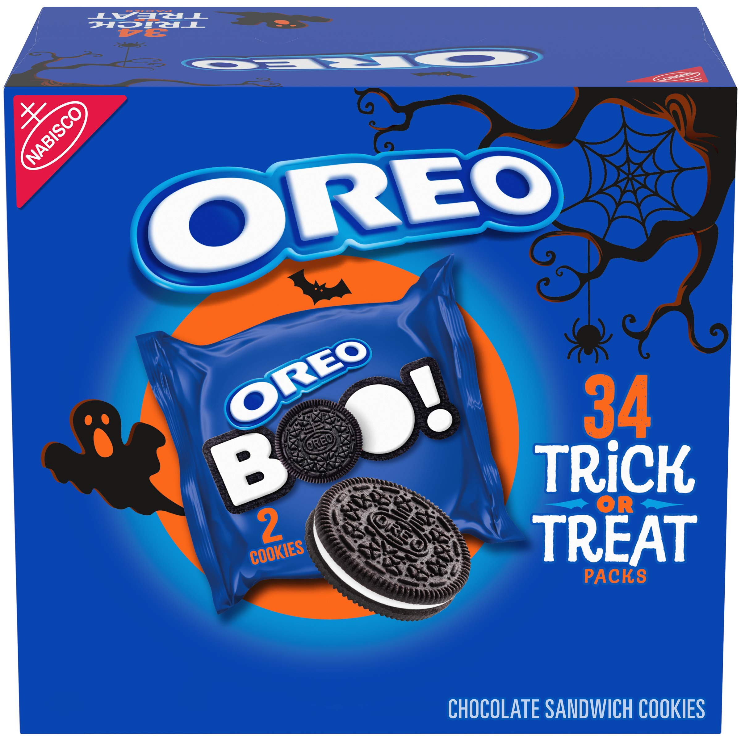 Oreo Chocolate Sandwich Cookies, Special Halloween Edition, 34 Count per pack, 26.52 Ounce by Oreo