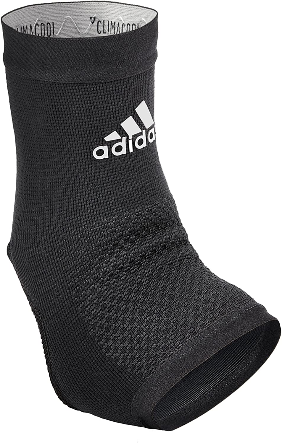 'Adidas Performance Climacool Ankle Compression Sleeve Support with Moisture Wicking Technology, Black, Size Small' 81WeNWPltoL