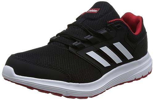 huge discount 91a7e d38f7 adidas Galaxy 4, Zapatillas de Entrenamiento para Hombre, Negro (Core Black Footwear  White Scarlet 0), 39 1 3 EU  Amazon.es  Zapatos y complementos