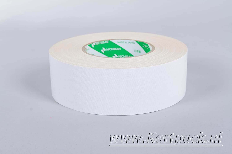 Nichiban Gaffa Tape 50mm X 50mtr Weiß 1 Rolle Baumarkt