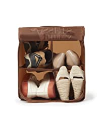 7. Hidden Assets Best Seller Unique Pop-up 4 Shoe Organizer