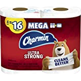 Charmin Ultra Strong Toilet Paper 4 Mega Roll, 4 count