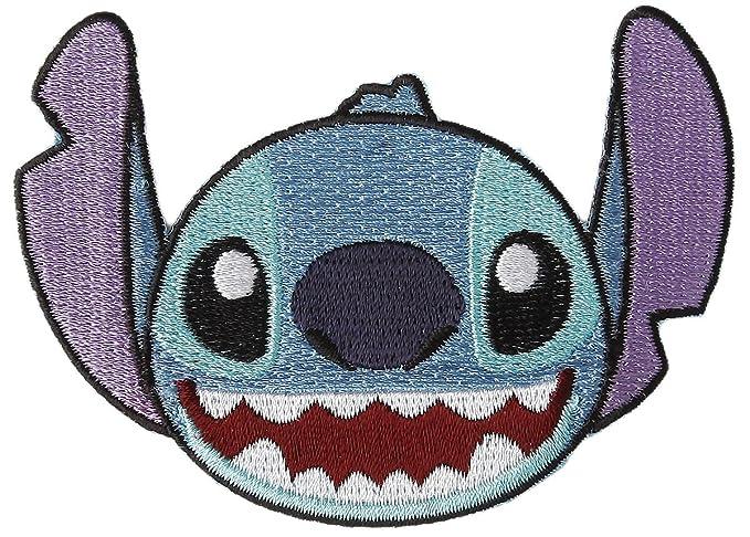 Amazon Disney Character Stitch Iron On Patch Kids Diy Apparel