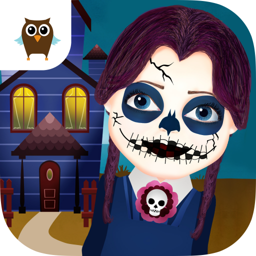 Funny Halloween Party - Dress Up, Makeup, Pumpkin & (Spooky Halloween Make Up Games)
