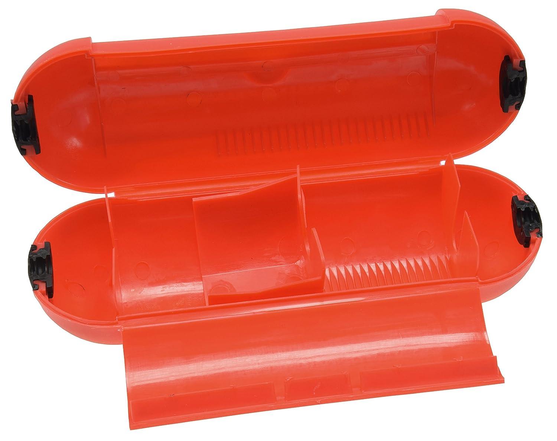 Sicherheits Schutzbox Safebox f/ür Kabel IP44 Wetterschutz 205 x /Ø 68mm Schutz gegen N/ässe und Staub Farbe rot 3 St/ück