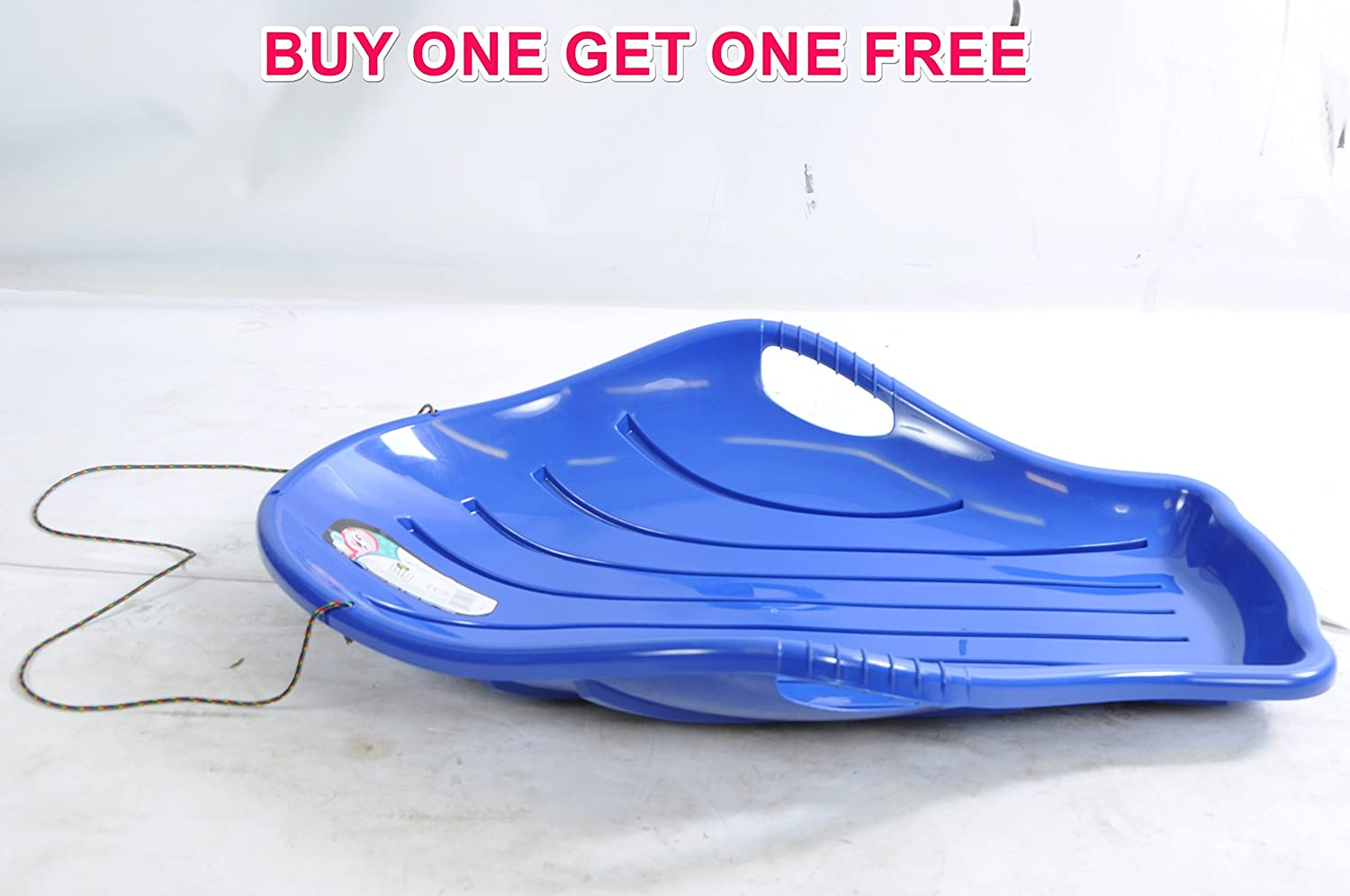 3 FEET LONG SLEDGE TOBOGGAN GREAT QUALITY SNOW SLEIGH BARGAIN GIFT BUY ONE GET ONE FREE PCM