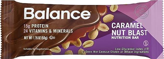 Balance Bar Caramel Nut Blast, 6 count Value Pack