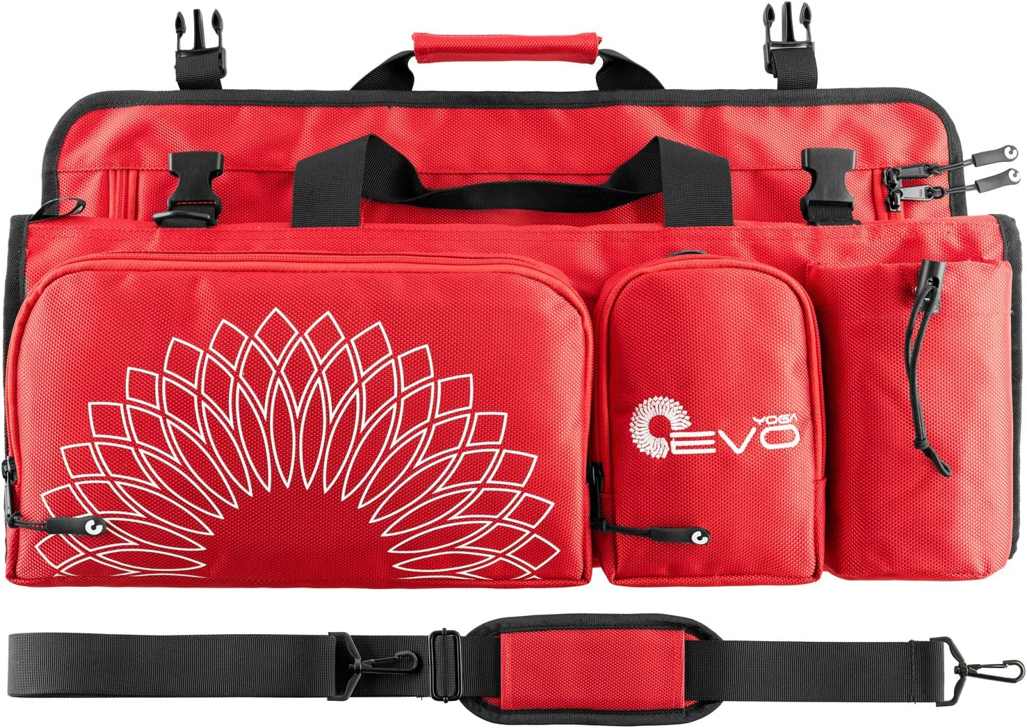 Amazon Com Yoga Evo Yoga Bag For Women Large Yoga Duffle Bag For Mat And Towel With Adjustable Strap Sports Outdoors