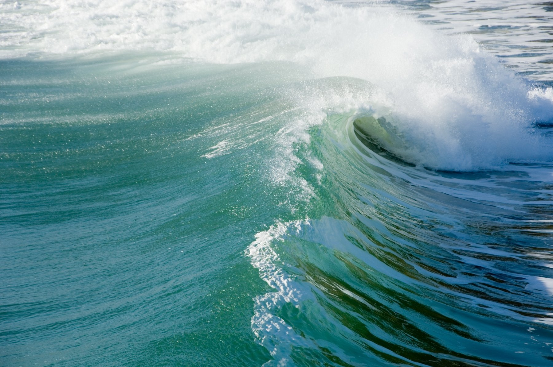 Wave Tube BIG Art Photograph Surfing by
