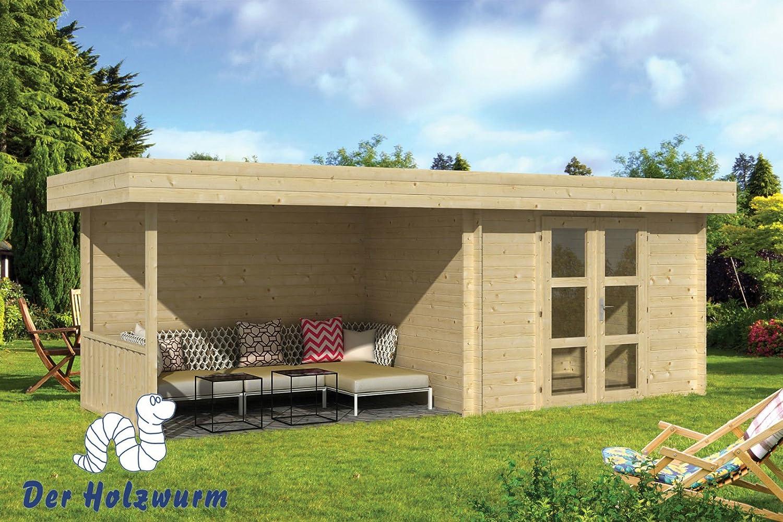 bloque casa Maya + lado techo (320 + 320 x 240 cm): Amazon.es: Jardín