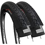 Fincci Par 26 x 2,10 Pulgadas 54-559 Cubiertas para Carretera MTB Montaña Hibrida Bici Bicicleta (Paquete de 2)