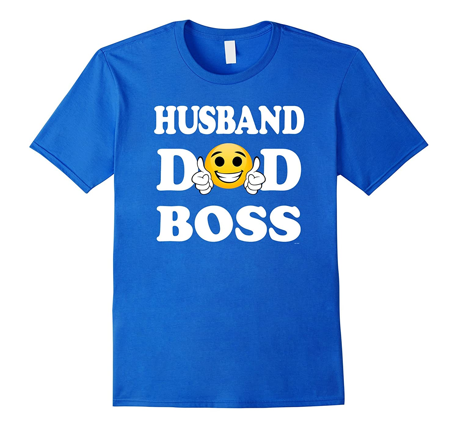 Mens Husband dad boss Emojicon fathers day gift from daughter-4LVS