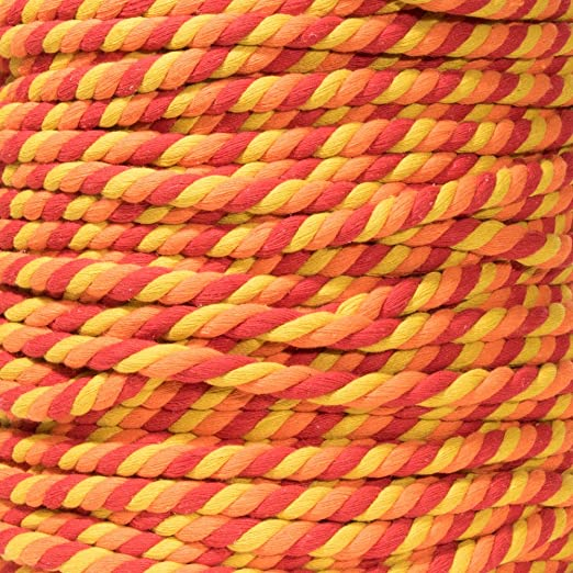 Chill, 1//2 Inch Diameter X 50 Feet and Much More Super Soft 3 Strand Twisted Cotton Rope Great for Home Decoration DIY Crafting Custom Art