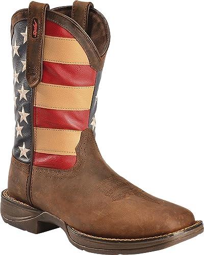 Durango Men s 12 quot  Rebel Patriotic Pull-On Western Boot-DB5554 ... 16f157095253