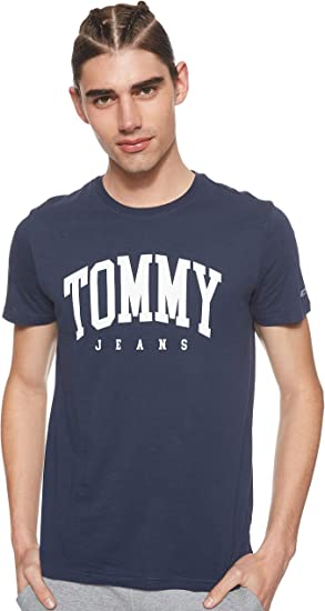 Tommy Hilfiger TJM Essential Logo tee Camisa para Hombre