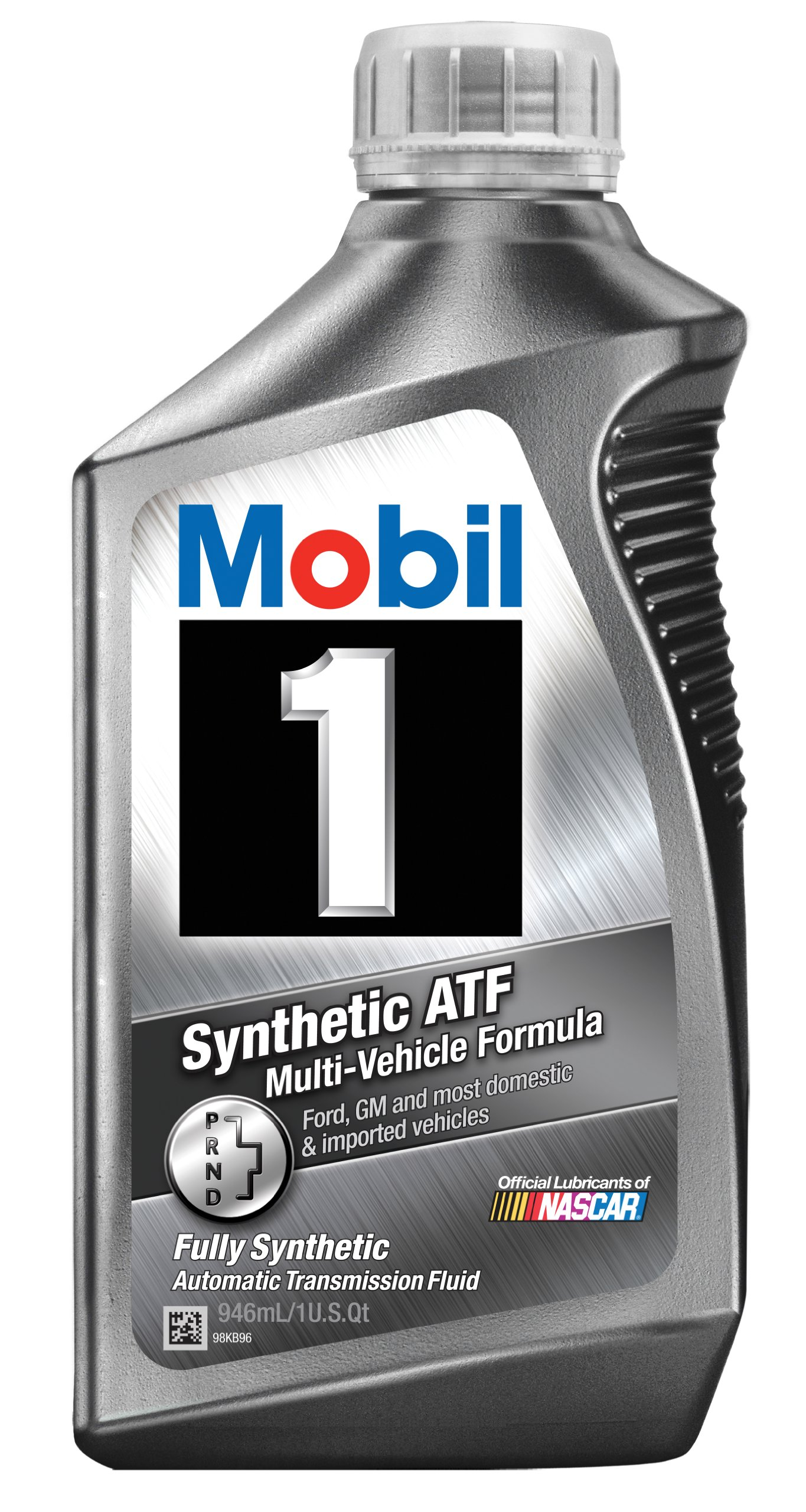 Mobil 1 112980 Synthetic Automatic Transmission Fluid - 1 Quart