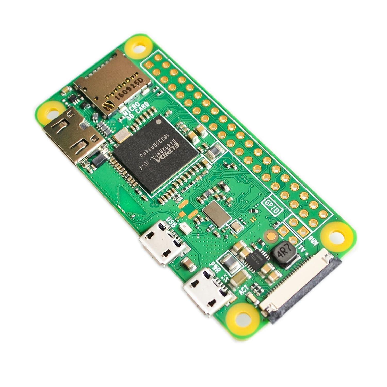 2018 Raspberry Pi Zero W Board 1GHz CPU 512MB RAM with Built-in WiFi /& Bluetooth RPI 0 W