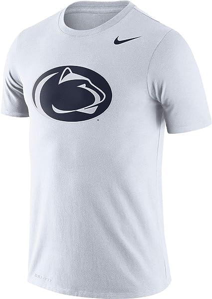 Nike Penn State Nittany Lions Legend Logo Dri Fit Performance T Shirt White Clothing