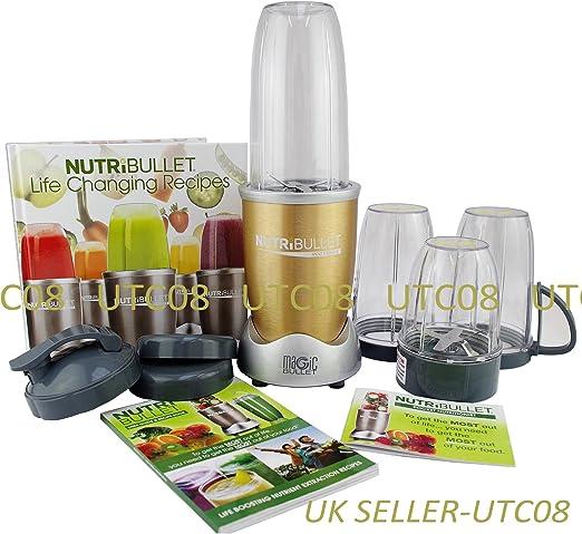NutriBullet Pro 900 Series - Juego de mezclador/mezclador de ...