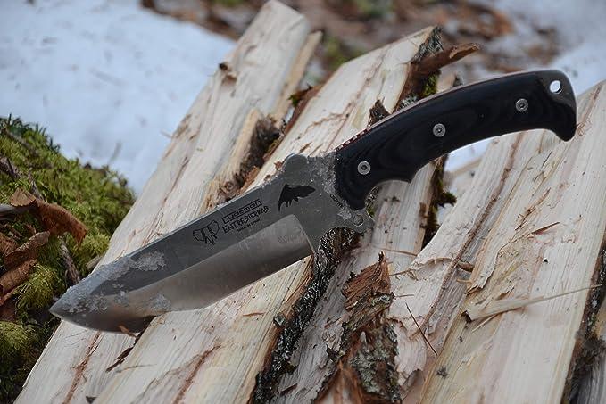 Cudeman 155-M Cuchillo, Negro, L
