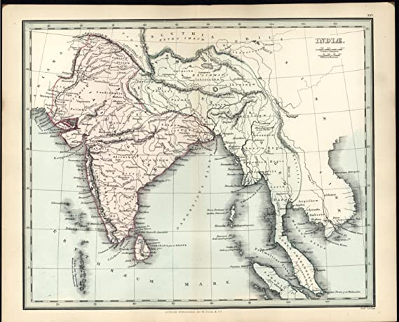 India Burma Malay Peninsula Ceylon Himalayas c.1830 antique ... on sumatra map, indus river map, malay archipelago, india map, sabah map, strait of malacca, cuba map, arabian peninsula, philippines map, malaysia map, east indies, indonesia map, singapore map, gobi desert on map, east timor map, japan map, peninsular malaysia, persian gulf map, cambodia map, malay language, malay people, laos map, kra isthmus, great sandy desert map, borneo map, cape of good hope map, java on map, maldives map,