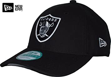 42ecd103a97 New Era NFL First Down Oakland Raiders 9Forty Adjustable Cap  Amazon ...