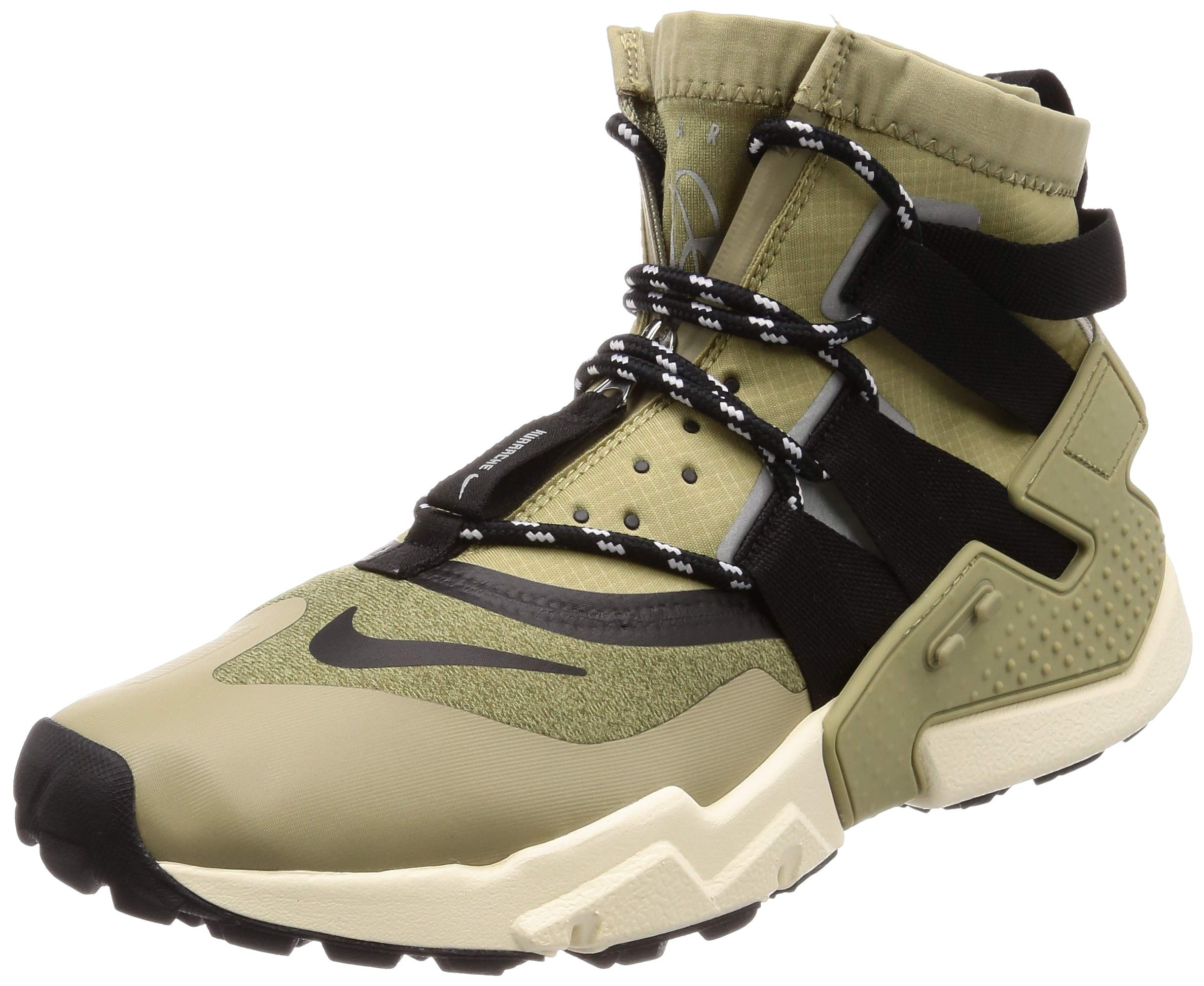 ff0f83bb0c Galleon - Nike Air Huarache Gripp Men's Shoes Neutral Olive/Black  Ao1730-200 (11 D(M) US)