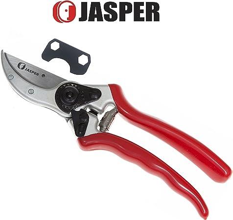 """Aluminum Forged Bypass Classic Pruner 2 x Jasper 8 1//2/""""  Titanium Sharp Blade"""