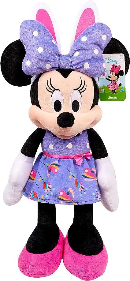 Amazon Com Disney Easter Minnie Mouse Plush Amazon Exclusive Toys Games