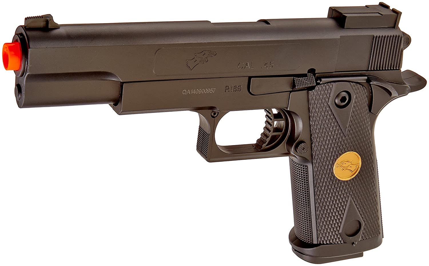 amazon com bbtac p169 airsoft gun 260 fps spring pistol handgun