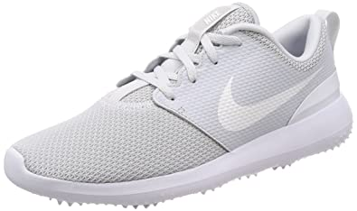 f179c884e20f Image Unavailable. Image not available for. Color  Nike Men s Roshe G Golf  Shoe Pure Platinum White ...
