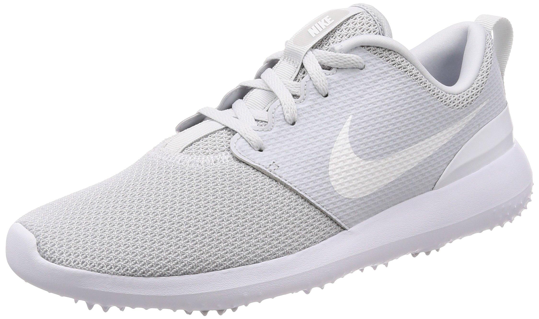 cheap for discount 85caa fdd99 Nike Men s Roshe G Golf Shoe Pure Platinum White Size 8.5 M US