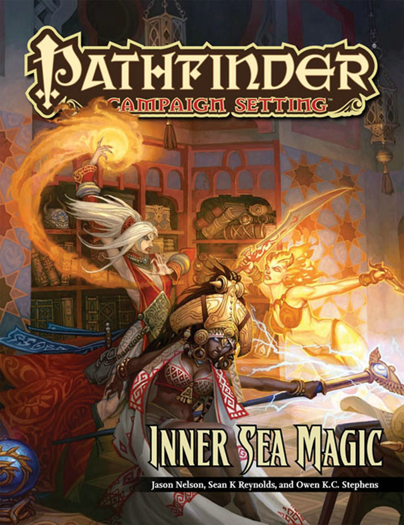 Read Online Pathfinder Campaign Setting: Inner Sea Magic PDF