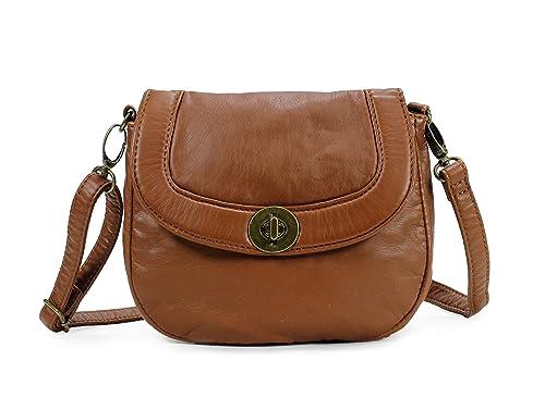 013ce26b48 Scarleton Mini Soft Washed Everyday Crossbody Bag H182304 - Brown ...
