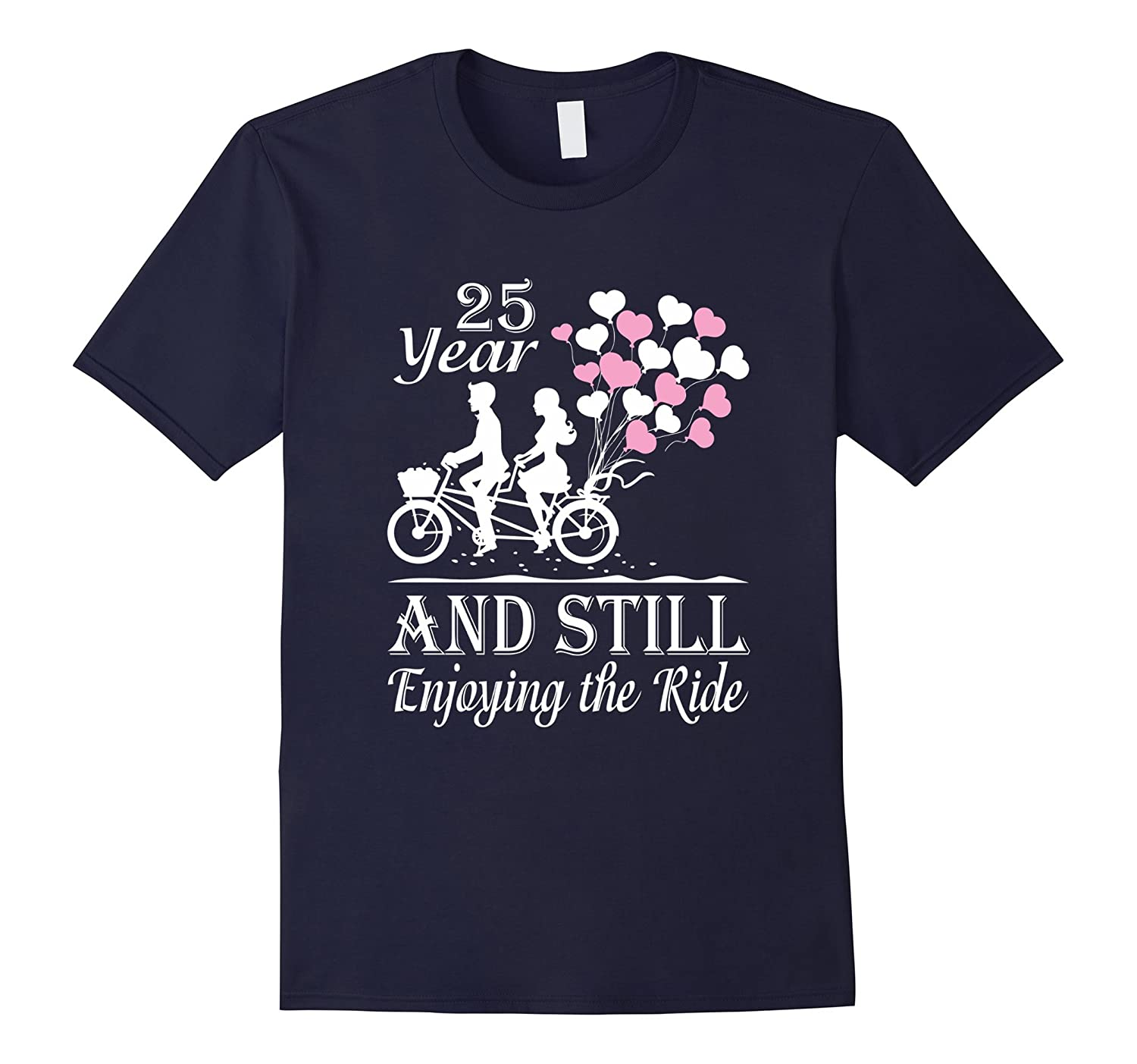 25th Wedding Anniversary Gifts T-Shirt Perfect Couple Shirt-TH