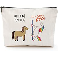 40th Birthday Gifts for Women - 1979 Birthday Gifts for Women, 40 Years Old Birthday Gifts Makeup Bag for Mom, Wife…
