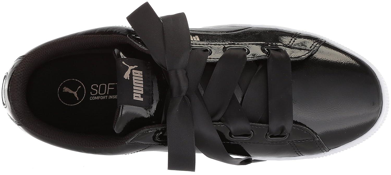 PUMA Woherren Vikky 9.5 Platform Ribbon P Turnschuhe, schwarz schwarz, 9.5 Vikky M US 4bc489