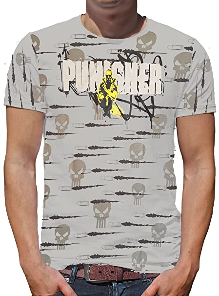 TLM The Punisher - Weapons T-Shirt Herren S Hellgrau
