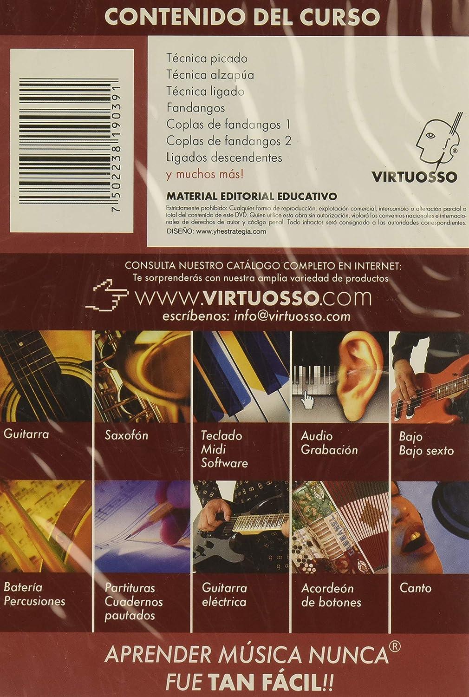 virtuosso Flamenco Guitar Method Vol. 2 (curso de guitarra ...