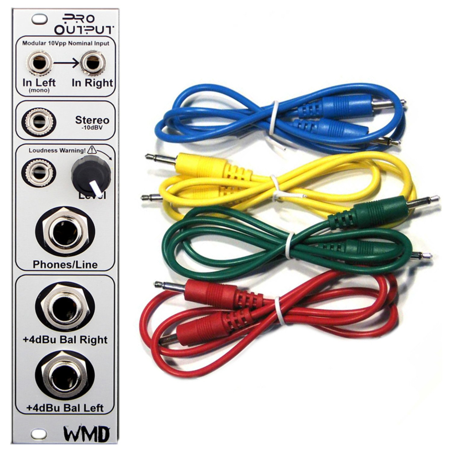 WMD Pro Output Eurorack Synth Module w/ 4 Cables