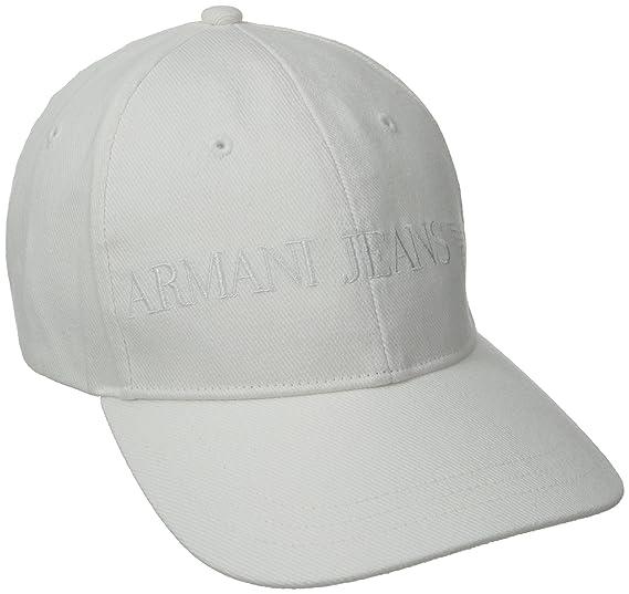 734d1ca3849 Amazon.com  Armani Jeans Men s Classic Baseball Logo Hat