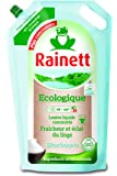 RAINETT Lessive Liquide Concentrée Ecologique Bicarbonate Recharge de 1,98 L