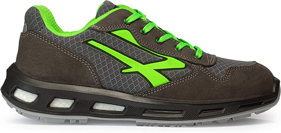 U Power RL20036 Chaussures de Sécurité GrisVert S1P SRC Taille 42