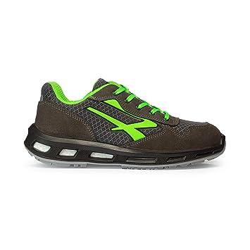 931fe7413aac1a U-Power RL20036 Chaussures de Sécurité Gris/Vert S1P SRC Taille 42 ...