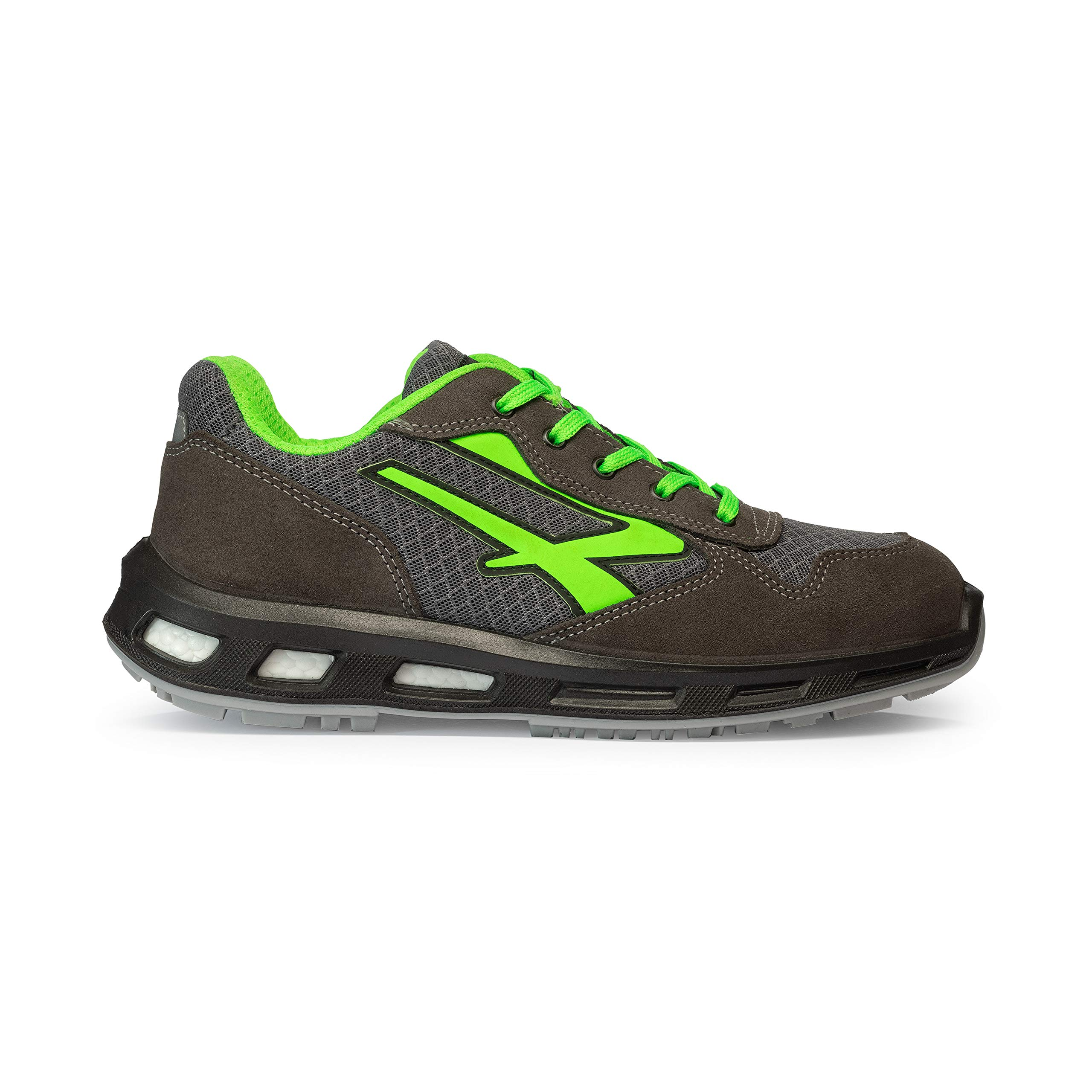 new product b14b6 a0c35 U-Power RL20036 RedLion POINT - Scarpe antinfortunistiche, Grigio scuro, 43  EU