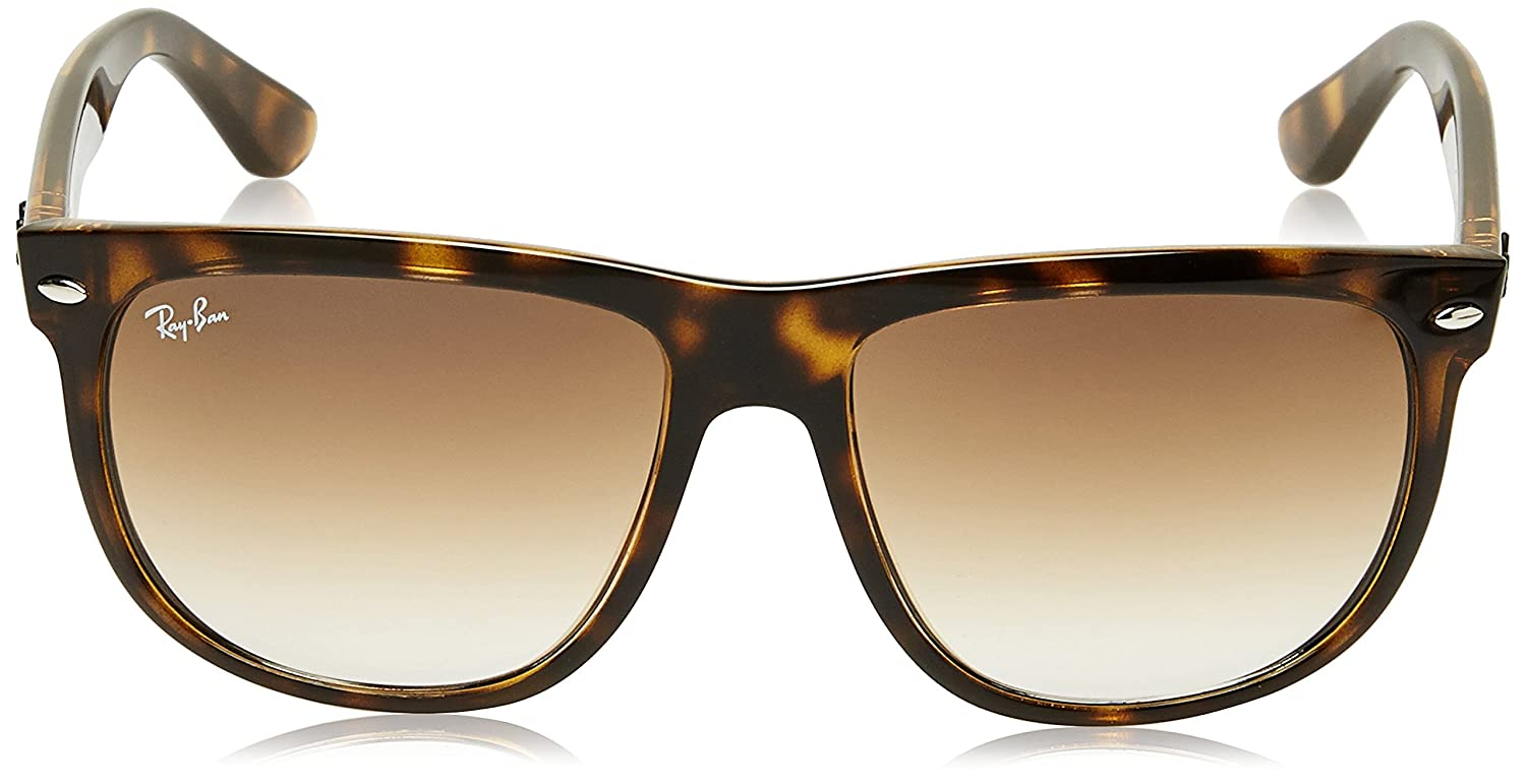 4477ed7ee82e Amazon.com: Ray-Ban RB4147 Boyfriend Square Sunglasses, Light  Tortoise/Brown Gradient, 56 mm: Ray-Ban: Clothing