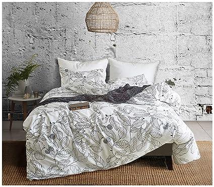 Amazon.com: Sensfun Boho 3pc Bedding Sets Queen Size Duvet ...